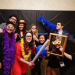 VOLUNTEERS OF THE MONTH KID's Young Professional Board helped secure 90 bottles of wine for the 2015 BFA and ran the photo booth, wine toss, and magicians table at the event.